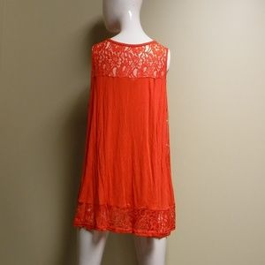 American Rag Tops - American Rag Lace/Red Tank Top Size 1X